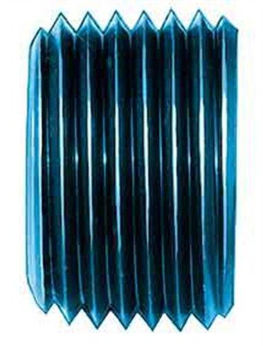 """Aeroquip FCM3687 Blue Anodized Aluminum 3/8"""" NPT Allen Head Pipe Plugs - Pack of 2"""