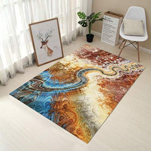 Europe Type 3D Printing Carpet Hallway Doormat Anti - Slip Bathroom Carpet Absorb Water Kitchen Mat/Rug