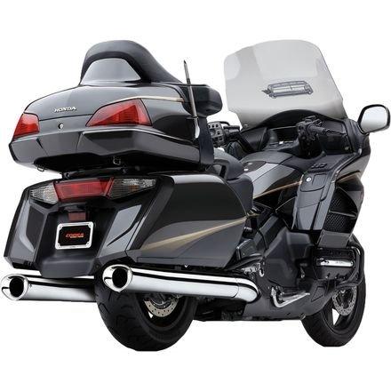 14 HONDA GL1800: Cobra Tri-Flo Slip-On Exhaust (Chrome / 4.5