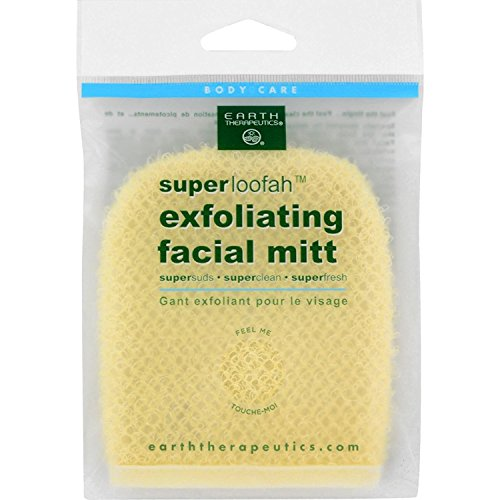 Earth Therapeutics Loofah, Super, Exfoliating, Facial (Earth Therapeutics Loofah Scrub)
