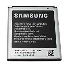 OEM EB425161LU Replacement Battery for Samsung Galaxy Ace 2 GT-I8160, Ace 2 X S7560M, Galaxy S Duos S7562, S III Mini i8190 and Galaxy Exhibit T599