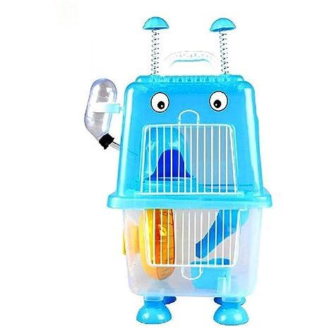 Gouwo Pequeño jaulas de animales, robótica Hamster Jaula, material ...
