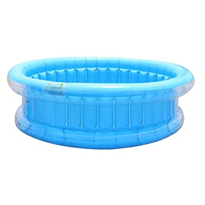 Liveday Inflatable Swimming Pools Thickening PVC Paddling Pool for Gardens Kids Outdoor Summer: Home & Kitchen