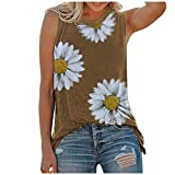 Yellsong Women Tank Tops, Womens Sunflower Cute