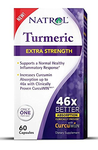 Natrol Extra Strength Turmeric with CurcuWin