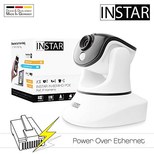 INSTAR Netzwerkkamera IN-6014HD POE, weiß