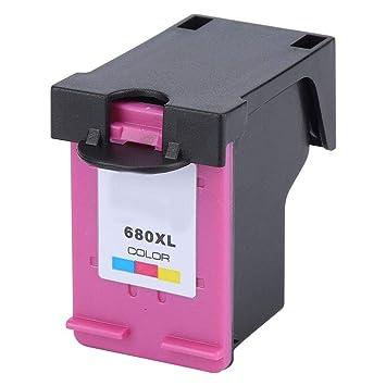 Carcasa de plástico Impresora Cartucho de Tinta de Repuesto 680 ...