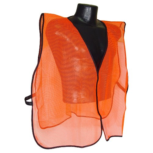 Radians SVO Universal Size Mesh Safety Vest, Orange ()