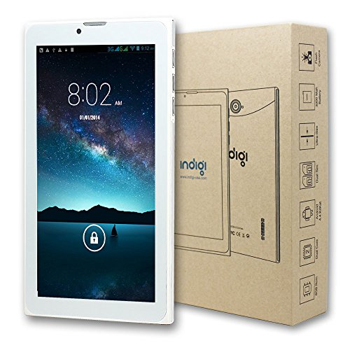 "Indigi Slim 7"" WiFi Tablet PC w/ Sim Card Slot - Support 3G"