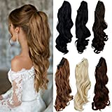 FUT 18inch 150g Curly Jaw Claw Ponytail One - Best Reviews Guide