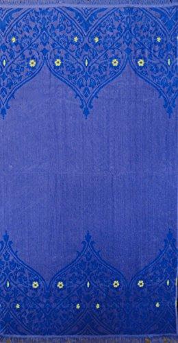 - BALTIC LINEN Jasmine Super Sized Cotton Jacquard Woven Beach Towel, 40