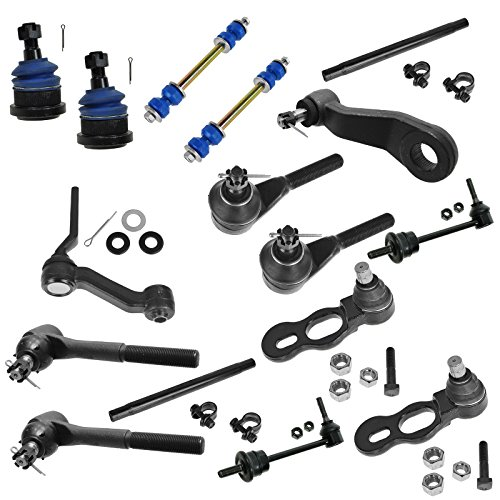 nks Tie Rods Pitman Idler Arms Ball Joints Adjusting Sleeves for Ford Crown Victoria Lincoln Town Car Mercury Grand Marquis (Kit Lincoln Town Car)