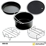 Image of Air Fryer Accessories,for Phillips Air Fryer and Gowise Air Fryer Fit all 3.7QT-5.3QT-5.8QT ,Set of 5-7 Inch