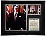 Legends Never Die Ronald Reagan Framed Photo Collage, 11x14-Inch