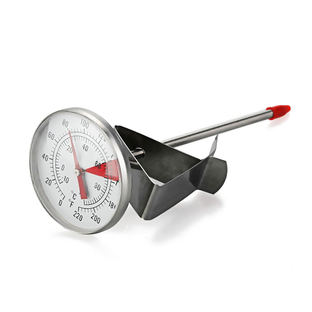 Foxpic Milk Thermometer - Steel Stainless Cooking Probe Thermometer 100°C for Outdoor Picnic Cooking Kitchen
