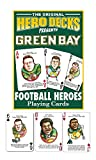 Channel Craft Green Bay Packers Football Heroes Playing Cards