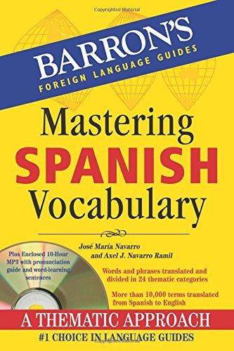 Mastering Spanish Vocabulary with Audio MP3: A Thematic Approach (Mastering Vocabulary Series) by imusti