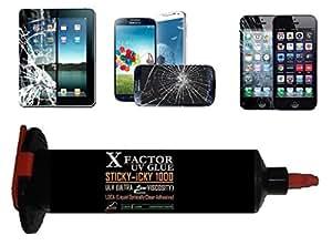 30ml LOCA UV GLUE - Xfactor Sticky-Icky1000 PROFESSIONAL Grade Liquid Optical Clear Adhesive - ULTRA LOW Viscosity 1000mPas (Black Lightproof Tube) !!