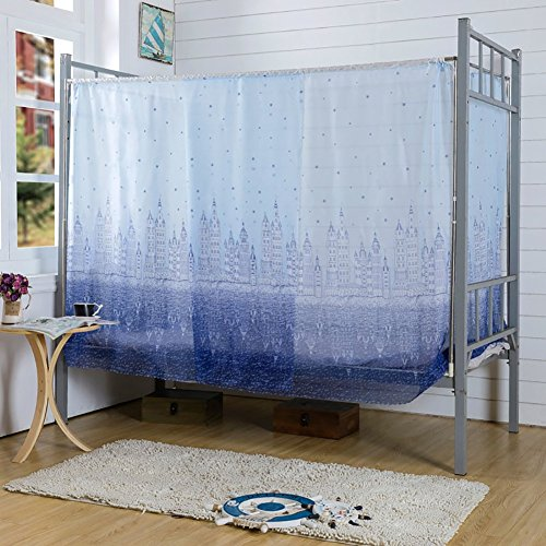 Dormitory Mosquito Net,Tofover Bunk Bed Encryption Nets Bed Canopy Square Student Dorm Netting Blackout Curtains Anti-mosquito Tent