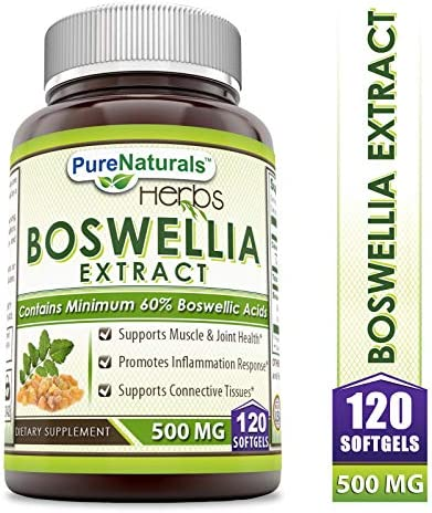 Pure Naturals Boswellia Extract Softgels product image