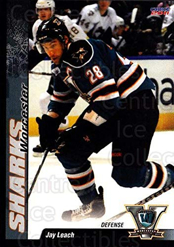 (CI) Jay Leach Hockey Card 2010-11 Worcester Sharks 19 Jay Leach ()
