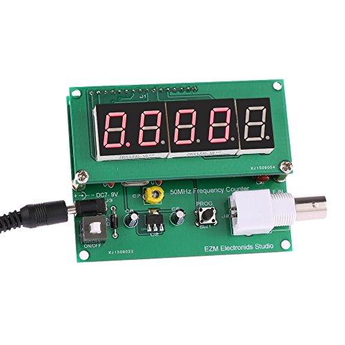 KKmoon High Sensitivity 1Hz-50MHz Frequency Meter Counter Measurement Tester Module 7V-9V 50mA