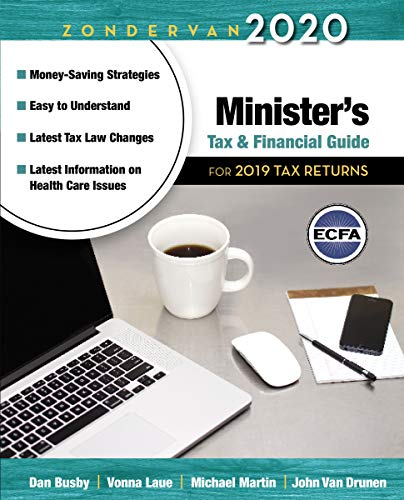 Zondervan 2018 Minister's Tax and Financial Guide: For 2017 Tax Returns (Household Finance Software)