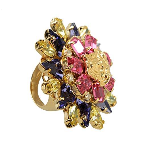 Versace Multi-Color Women's Ring Sz ()