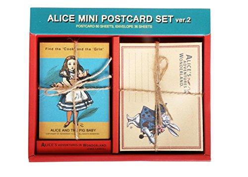Mini Postcard Set Ver.2 - Alice's Adventures in Wonderland (Vintage Rabbit Postcard)