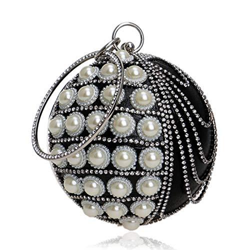 Evening Bag Banquet Evening Tassel Black GROSSARTIG Handbag Dress Luxury qw0xz