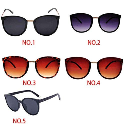 gafas de sol retro sol metal protección Gafas de resina lentes de de las mujeres de 5 Babysbreath17 5 UV400 de marco las moda ordenador 7654q6p