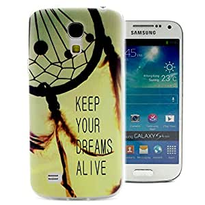 ivencase Encantador Moda Simple Style Flexible Suave TPU Funda Carcasa Tapa Case Cover Perfecto Fit Para Samsung Galaxy S4 mini / i9190 / i9192