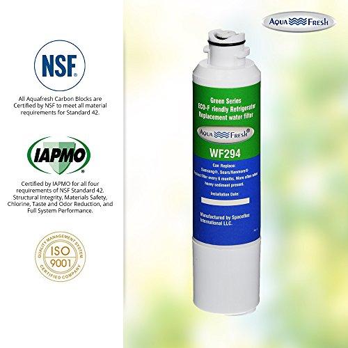 Aqua Fresh WF294 Replacement for Samsung DA29-00020B, HAF-CIN/EXP, 46-9101, WSS-2 Refrigerator Water Filter (6 Pack) by Aqua Fresh (Image #6)