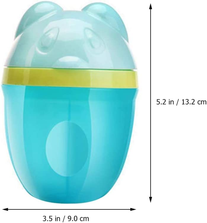 NUOBESTY 2 Unidades Dispensador de F/órmula para Beb/és Contenedor de Leche en Polvo Port/átil Contenedor de Almacenamiento de Alimentos para Reci/én Nacidos sin Fugas de Polvo para Viajes