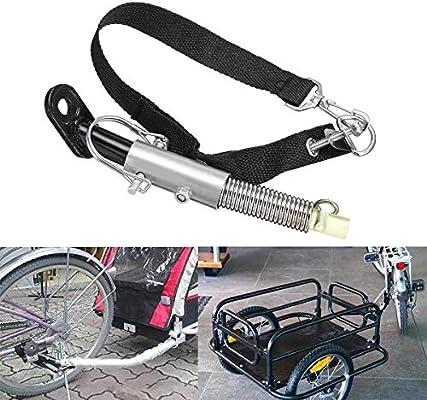 Acoplador universal de acero para bicicleta o remolque, accesorio ...