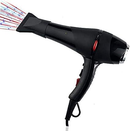 Secador de pelo, secador de aire caliente y frío, campana extractora, boquilla de aire, secador de pelo, cable 2.7: Amazon.es: Belleza