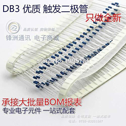 MYAMIA 100Pcs Db3 Diac Db-3-35 Bidirectional Trigger Diodes 26-36V-204Ah Diode