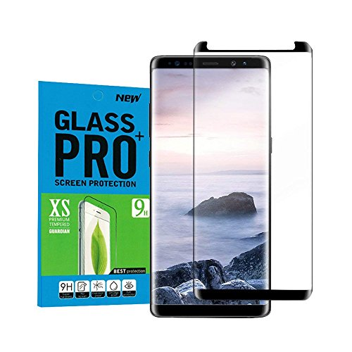 Für Galaxy Note 8 Panzerglas Schutzfolie,OMOSMAX Anti-Öl/9H Härte/Anti-Kratzer, Blasenfreie panzerglasfolie Displayschutzfolie Schutzfolie für Samsung Galaxy Note8