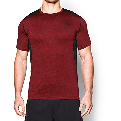 Under Armour Men's Raid Short Sleeve T-Shirt, Red/Black, XXX-Large from Under Armour