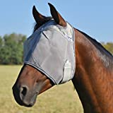 Cashel Crusader Standard Fly Mask No Ears or Nose - Size: Draft