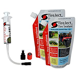 TireJect Tire Sealant - 20oz Tire Repair Kit (Puncture Repair - Flat Tire Protection - Fix Flat Tires)