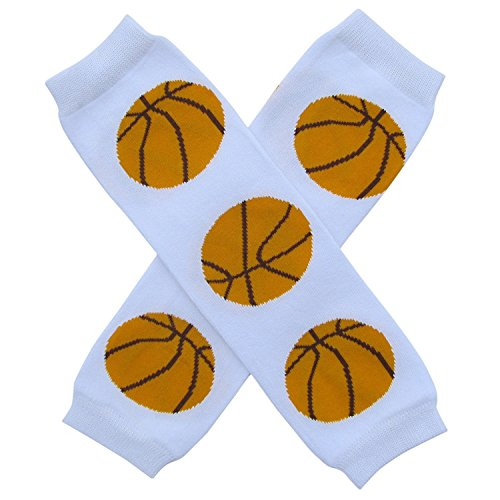 Triple Leg (Super Sports Star - Leg Warmers - One Size - Baby, Toddler, Boy, Girl (Triple Threat Basketball))