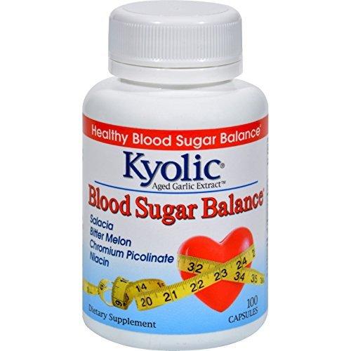 Kyolic Aged Garlic Extract Blood Sugar Balance - 100 Capsules by Kyolic
