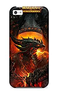 Julian B. Mathis's Shop Best 8637072K85429734 New World Of Warcraft Cataclysm Tpu Case Cover, Anti-scratch Phone Case For Iphone 5c