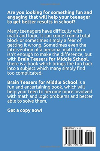 Brain Teasers for Middle School: The Best Logic Puzzles Collection ...