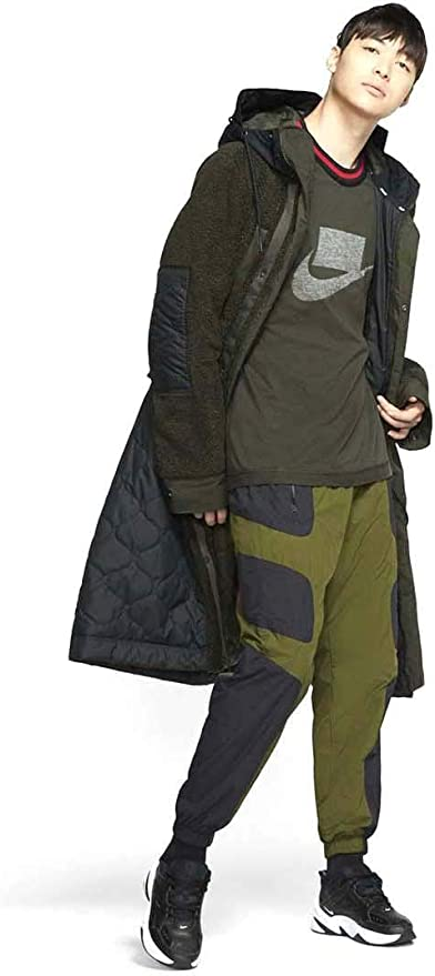 Nike Pantalon Sportswear Verde/Negro Hombre Large Verde: Amazon.es ...