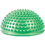 Hedgehog Style Balance Pod (Green, Single Pack) - Inflated Stability Wobble Cushion - Exercise Fitness Core Balance Disc - Perfect for Home and Gym Use - by Utopia Fitness