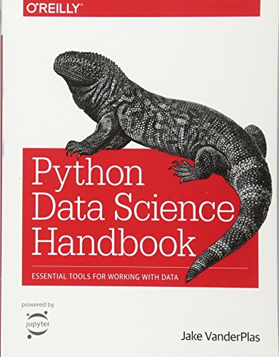 Book cover of Python Data Science Handbook: Essential Tools for Working with Data by Jake VanderPlas