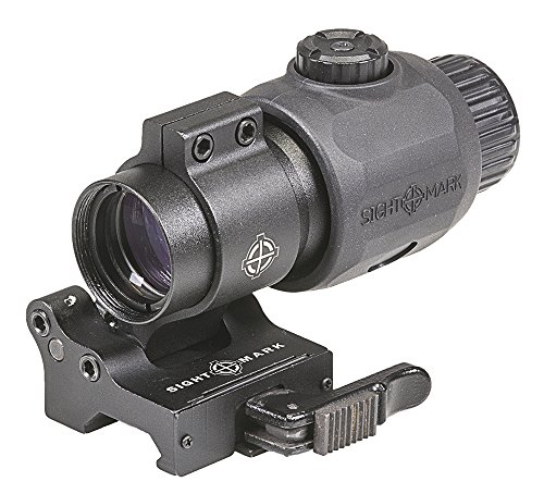 Sightmark SM19061 XT-3 Tactical Magnifier with LQD Flip Mount