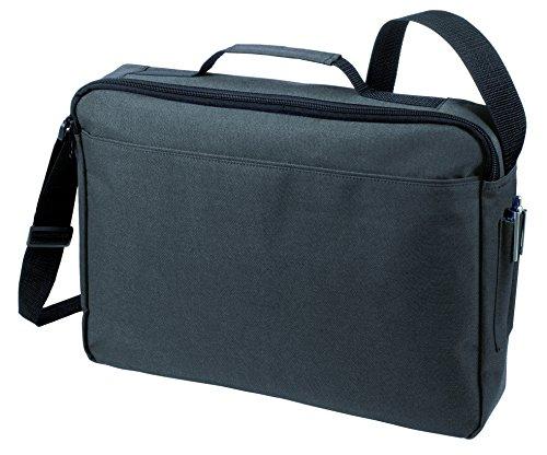 Bolsa de hombro bolsa de mensajero Bolsa del ordenador portátil en azul real anthracita